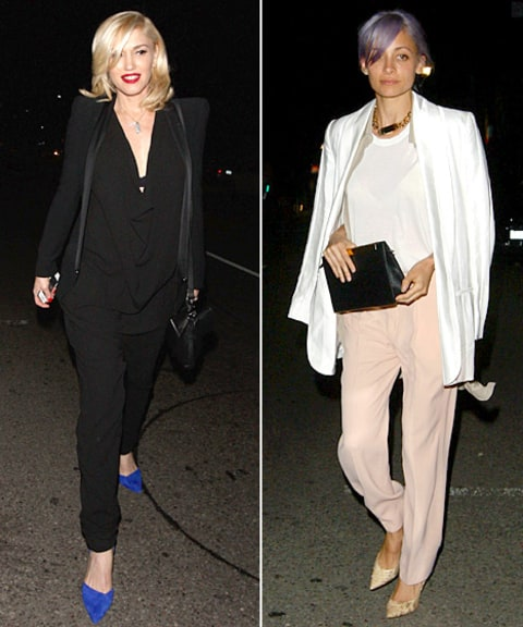 Gwen Stefani and Nicole Richi have dinner