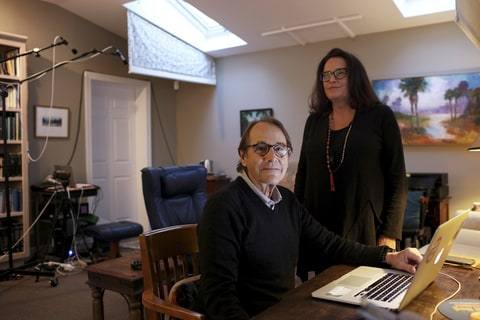 Dr. Michael Mithoefer, a psychiatrist, and his wife, Ann, a psychiatric nurse, in their office in Mount Pleasant, S.C., Nov. 10, 2016. The couple is leading a study on the use of MDMA, also known as Ecstasy, as a treatment for PTSD.