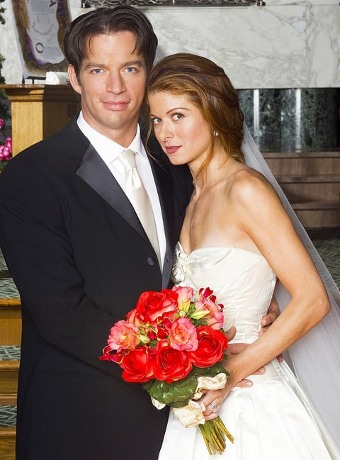 Harry Connick Jr. Debra Messing Will and Grace