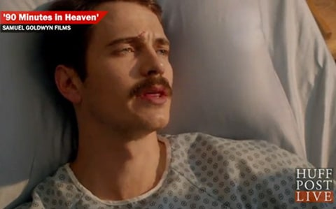 Hayden Christensen with Moustache