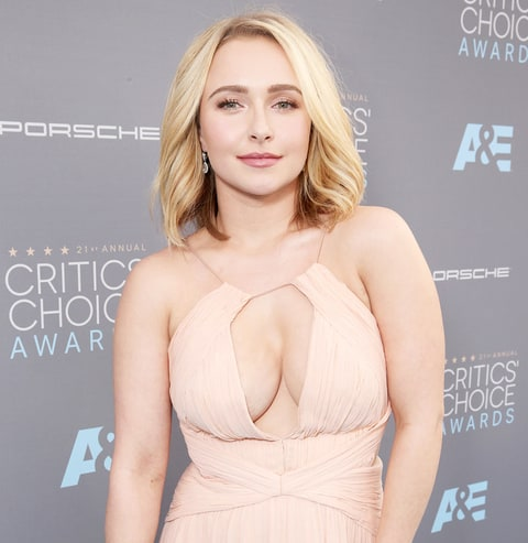 Hayden Panettiere at the 21st Annual Critics' Choice Awards on Jan. 17 ...