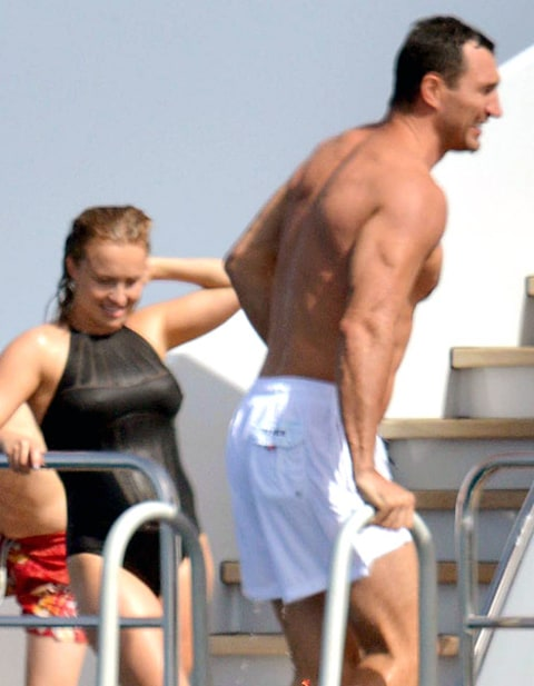 Hayden Panettiere bump and Wlad