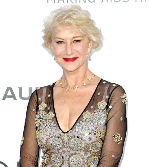Helen Mirren attends the amfAR's 23rd Cinema Against AIDS Gala at Hotel du Cap-Eden-Roc on May 19, 2016 in Cap d'Antibes.