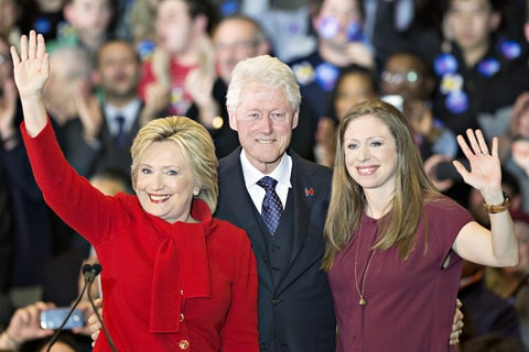 Hilary Clinton Bill Clinton Chelsea Clinton