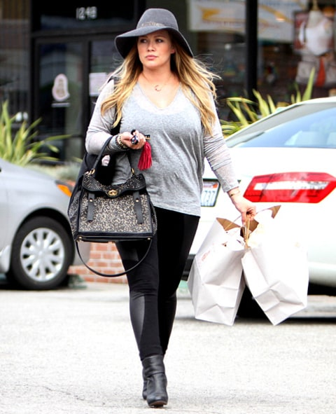 hilary duff out on sunday