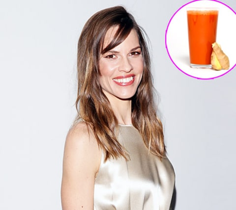 hilary swank juice
