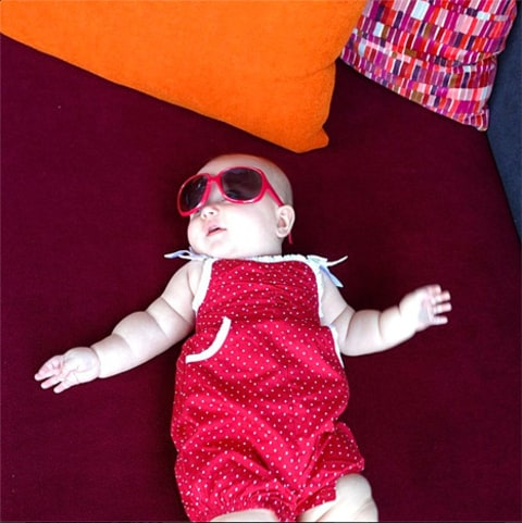 holly madison baby sunglasses