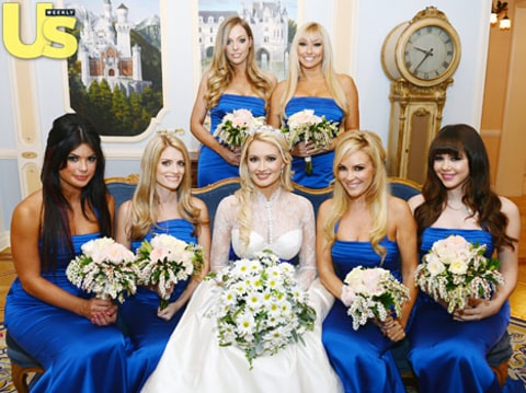 holly madison and bridesmaids