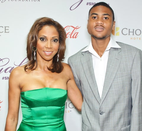 Holly Robinson Peete and son R.J.
