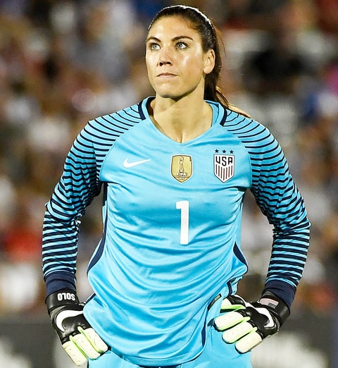 hope solo suspended for calling swedish players cowards