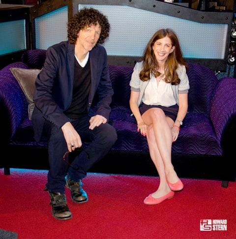 Howard Stern and Mara Reinstein