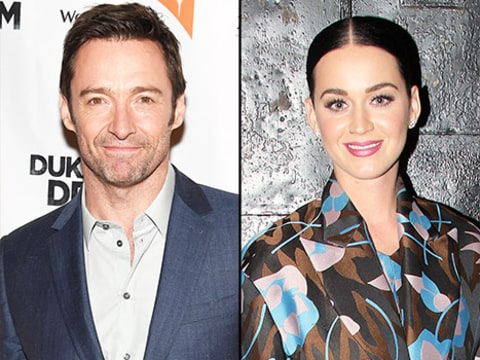 Hugh Jackman and Katy Perry
