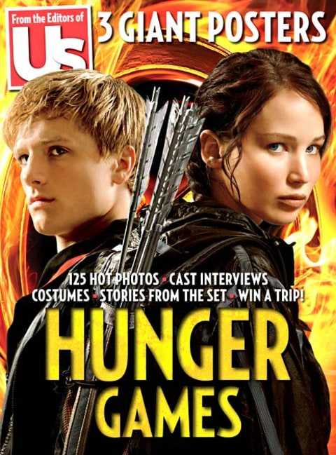 hunger games bookazine front cover