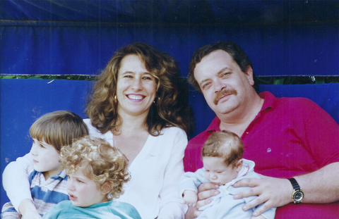 Clockwise from top left: Lucia Debiedma, Juan Daniel Debiedma, Juan 'Hungrybox' Debiedma, Debiedma siblings.