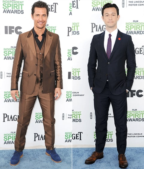 Independent Spirit Awards Matthew & Joseph