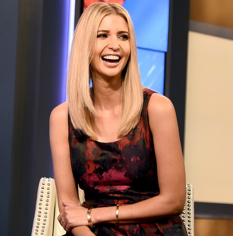 Ivanka Trump Visits 'Fox & Friends' at Fox Studios on Sept. 14, 2...