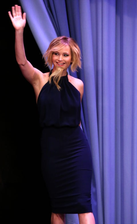 Jennifer Lawrence on The Tonight Show