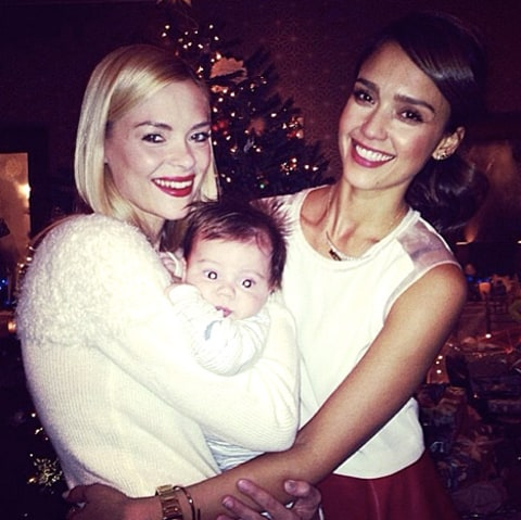 Jaime and Jessica with baby