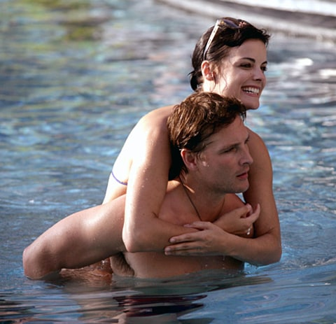 Peter Facinelli and Jaimie Alexander - Mexico