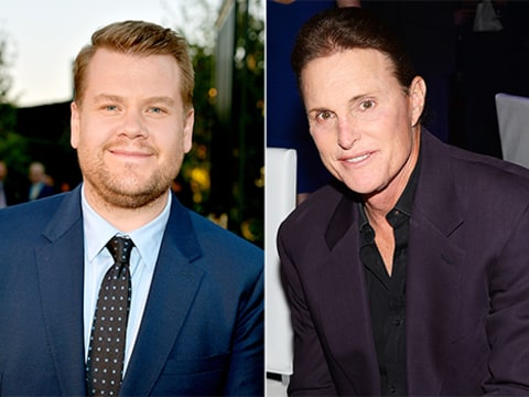 james corden and bruce jenner
