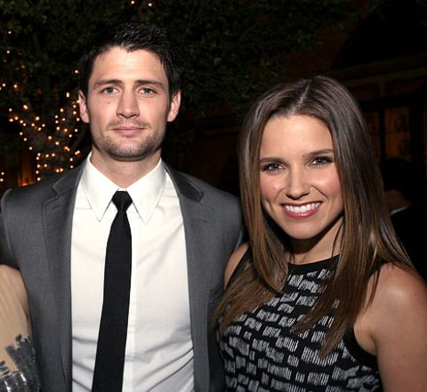 Sophia Bush and James Lafferty