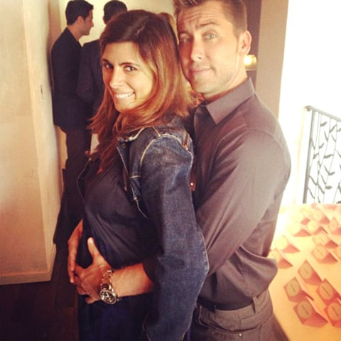 jamie-lynn sigler and lance bass