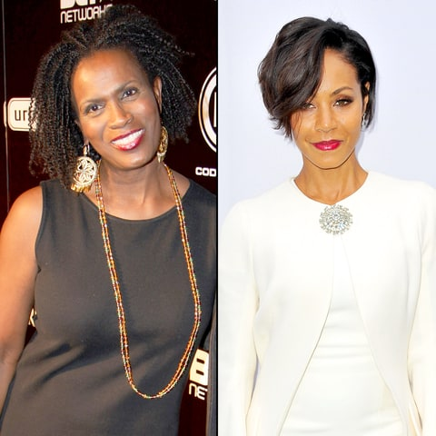 Janet Hubert and Jada Pinkett Smith