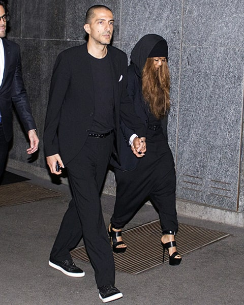 janet and wissam attend giorgio dinner
