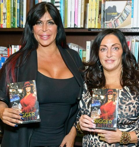 'Big Ang' Raiola and Janine Detore
