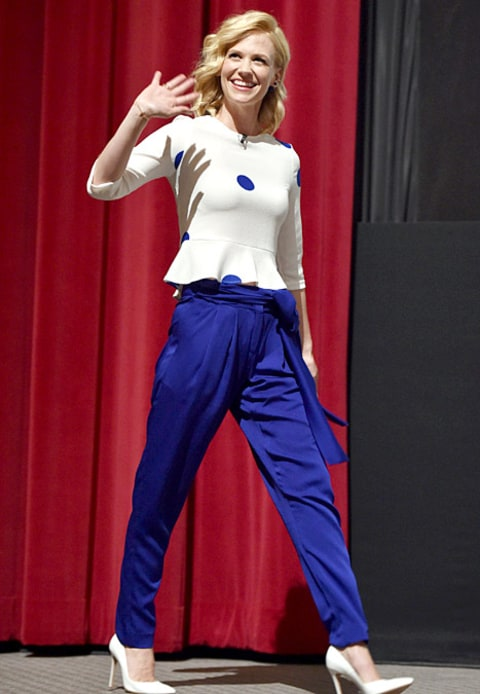 January Jones cobalt trend
