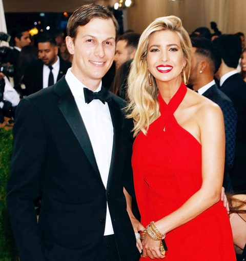 Jared Kushner and Ivanka Trump