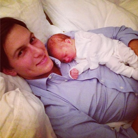 jared kushner new baby