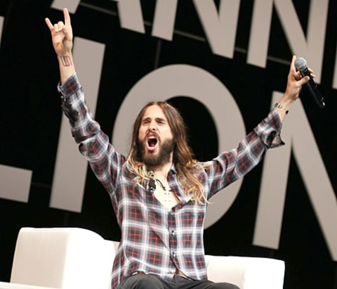 Jared Leto - Cannes Lions Festival