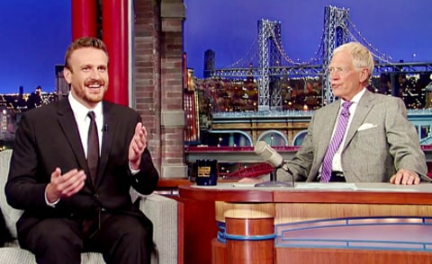 jason segel on letterman