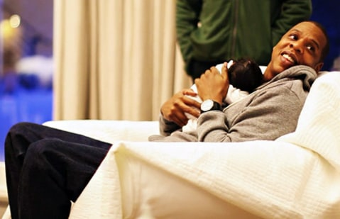 jay-z and blue ivy