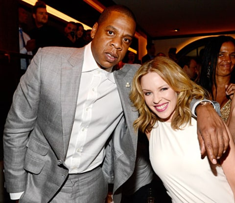 jay-z and kylie minogue