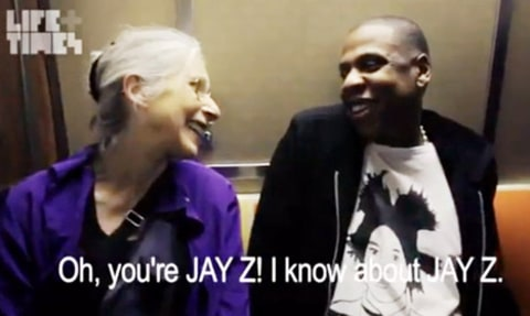 jay-z old lady