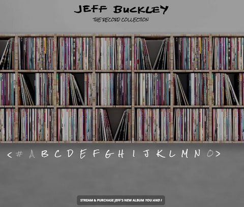 Browse Jeff Buckley's Personal Record Collection news