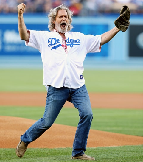 jeff bridges first pitch