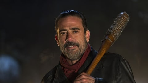 Jeffrey Dean Morgan as Negan in The Walking Dead
