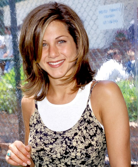 Jennifer Aniston in 1995.