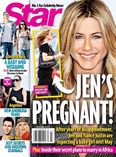 jennifer aniston star cover