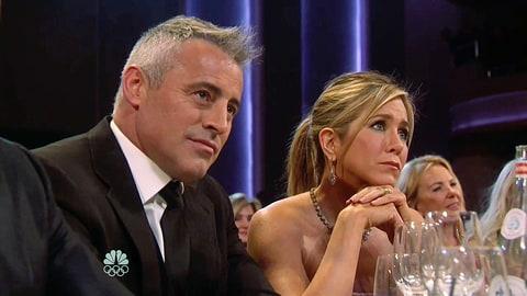 Matthew Perry And Jennifer Aniston