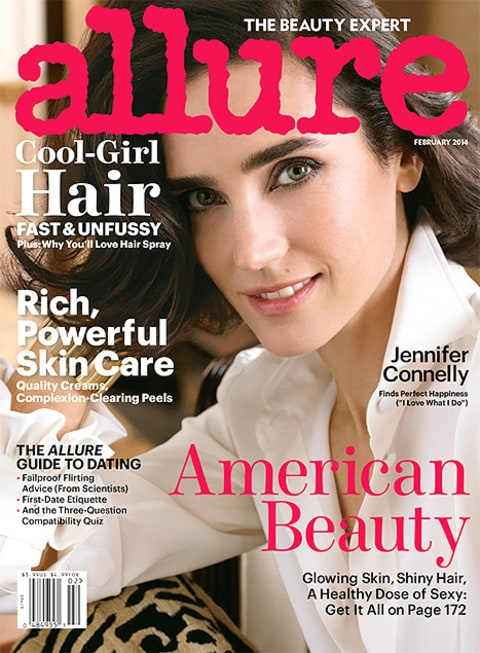 Jennifer Connelly - Allure Cover