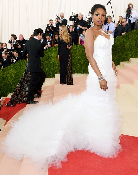 Jennifer Hudson at the 2016 Met Gala