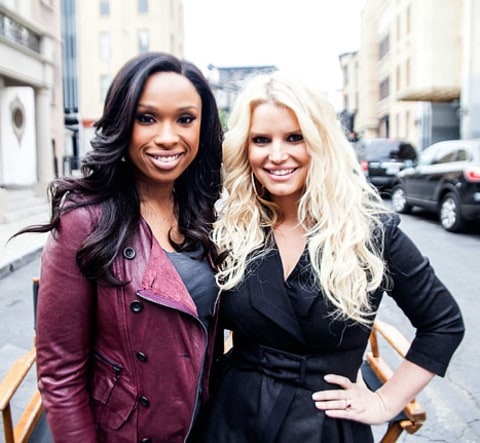 jennifer hudson and jessica simpson