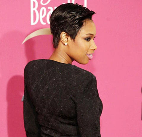jennifer hudson haircut back view