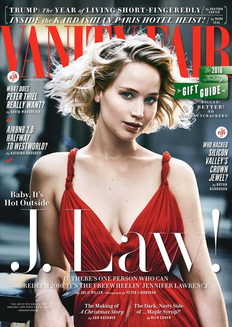 Vanity Fair December 2016 Issue