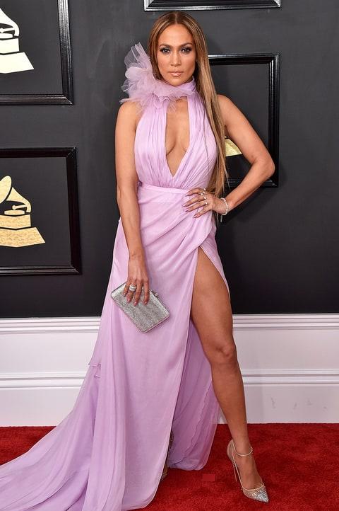 2017 Grammys Peekaboo Style Stars Stun In Keyhole Dresses - Us Weekly