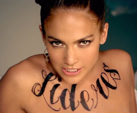 jennifer lopez chest tat